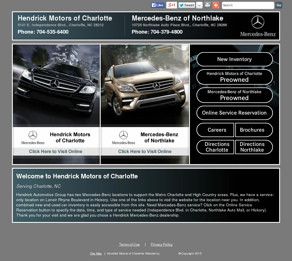 Hendrick Motors Of Charlotte Mercedes Benz Nc 28212 ...