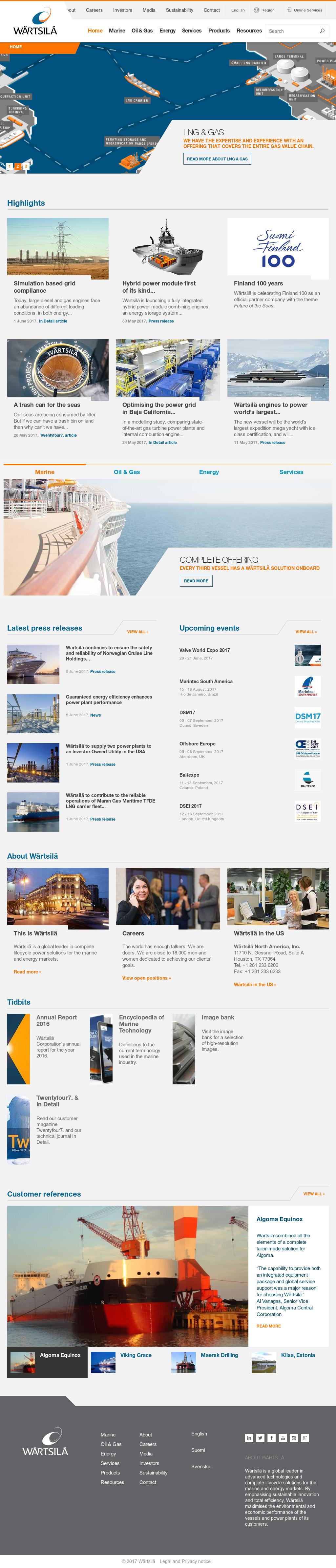 Wartsila Competitors, Revenue and Employees - Owler Company Profile