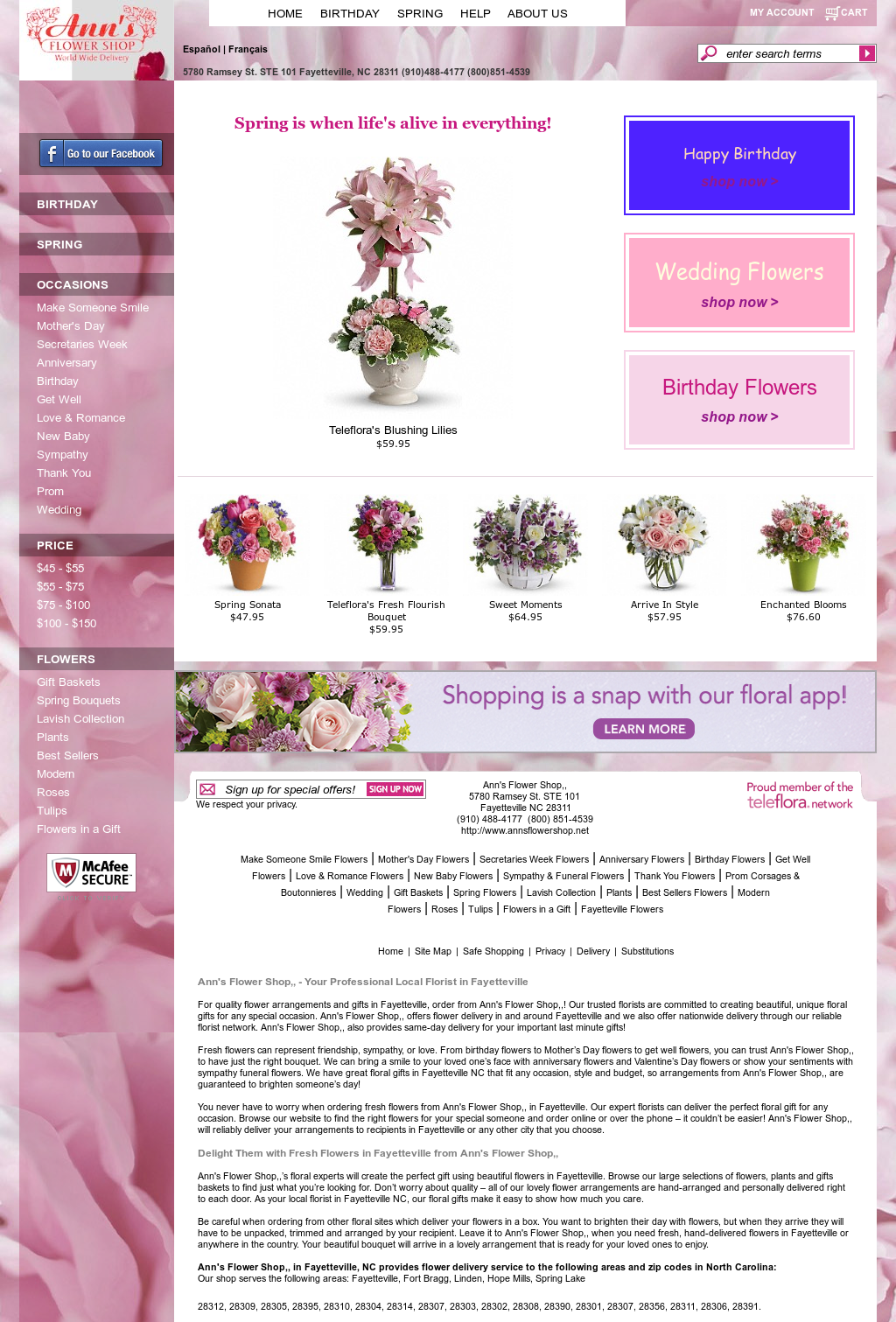 Annsflowershop Competitors Revenue And Employees Owler Company
