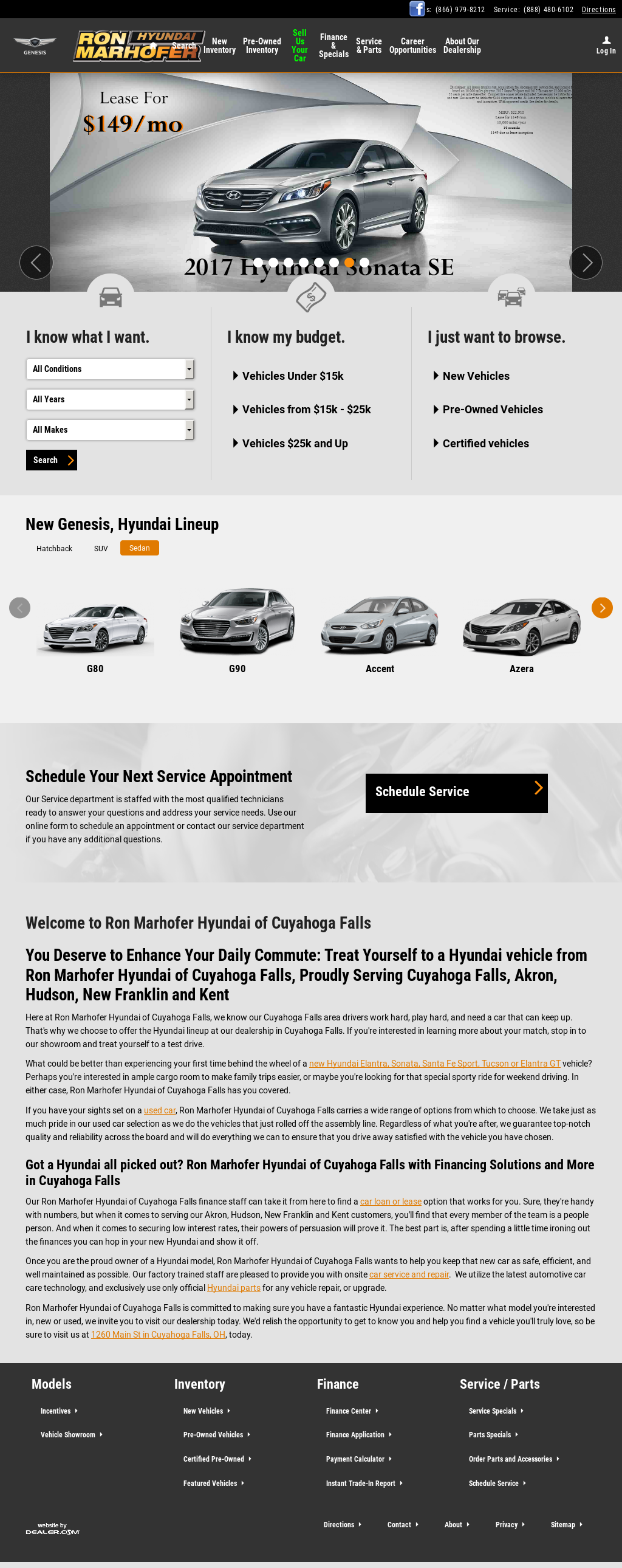Amazing Ron Marhofer Hyundai Of Cuyahoga Falls Website History