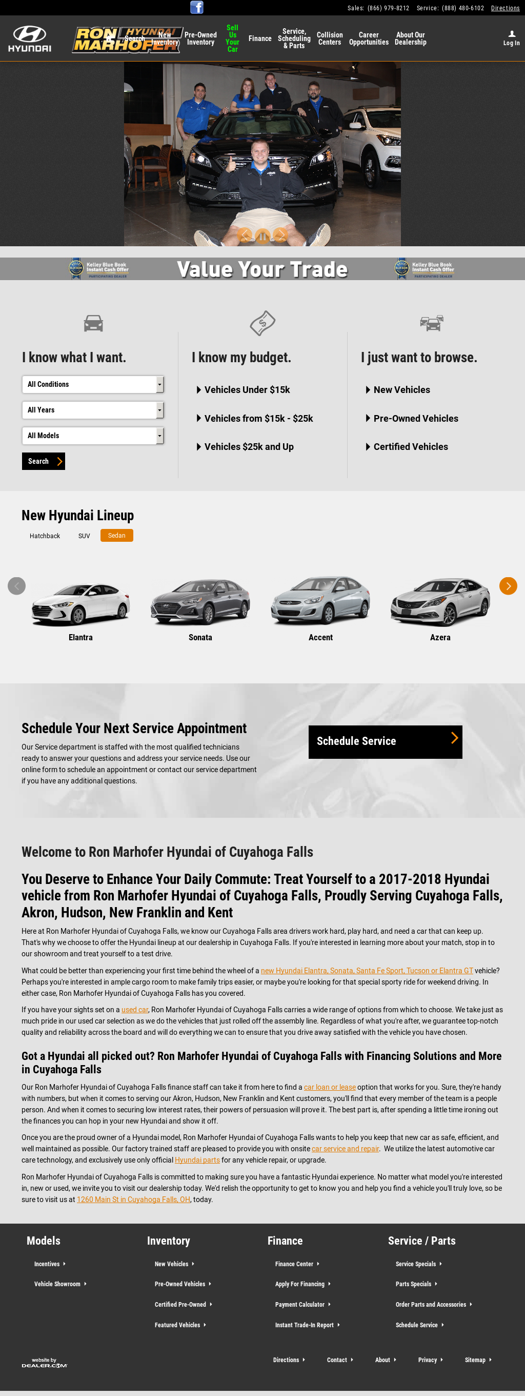 Superb Ron Marhofer Hyundai Of Cuyahoga Falls Website History
