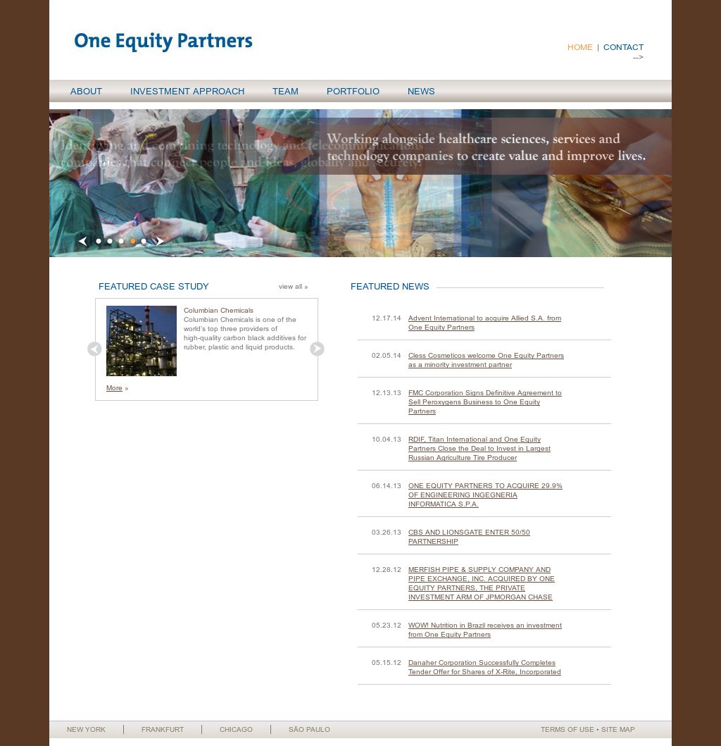 One Equity Partners Competitors, Revenue and Employees