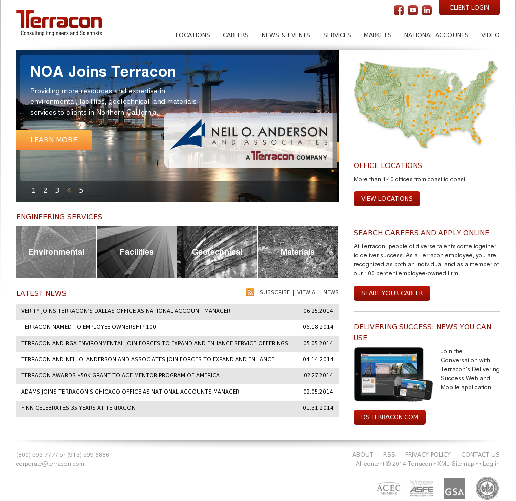terracon competitors revenue and employees owler company profile