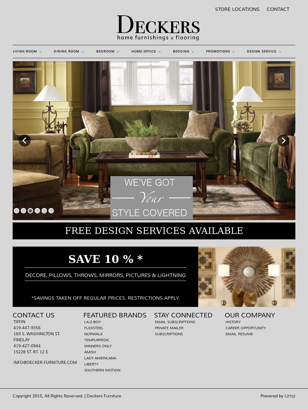 Deckers Furniture Carpet Compeors Revenue And Employees Owler Company Profile