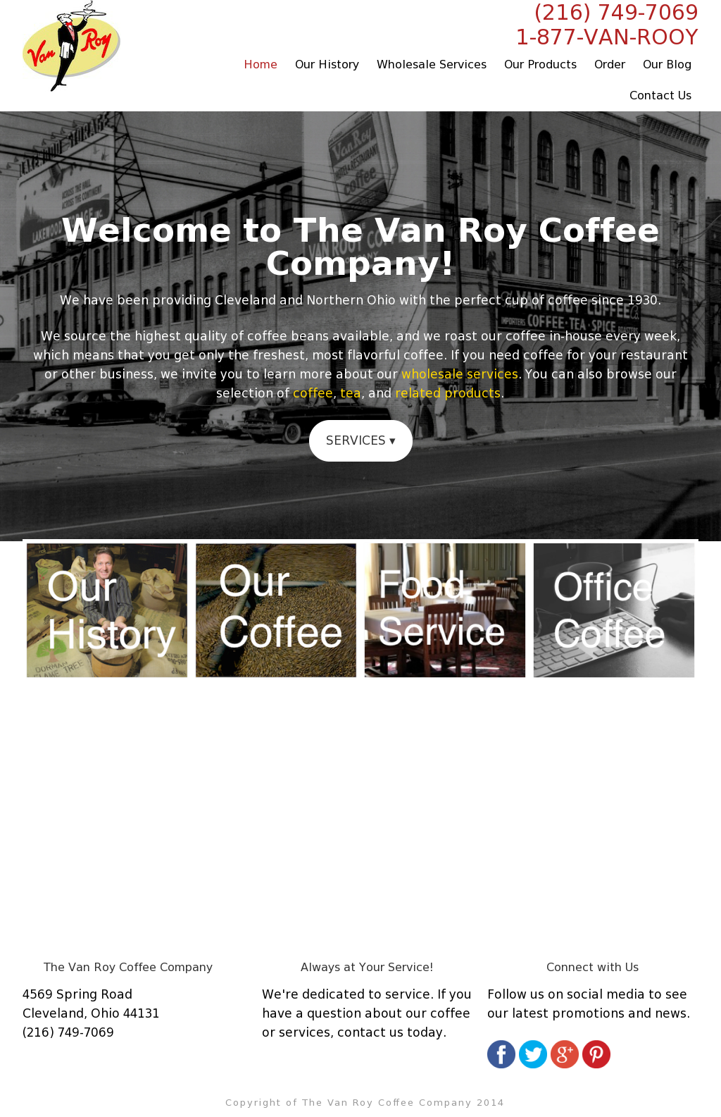 Van Roy Coffee Compeors Revenue And Employees Owler Company Profile