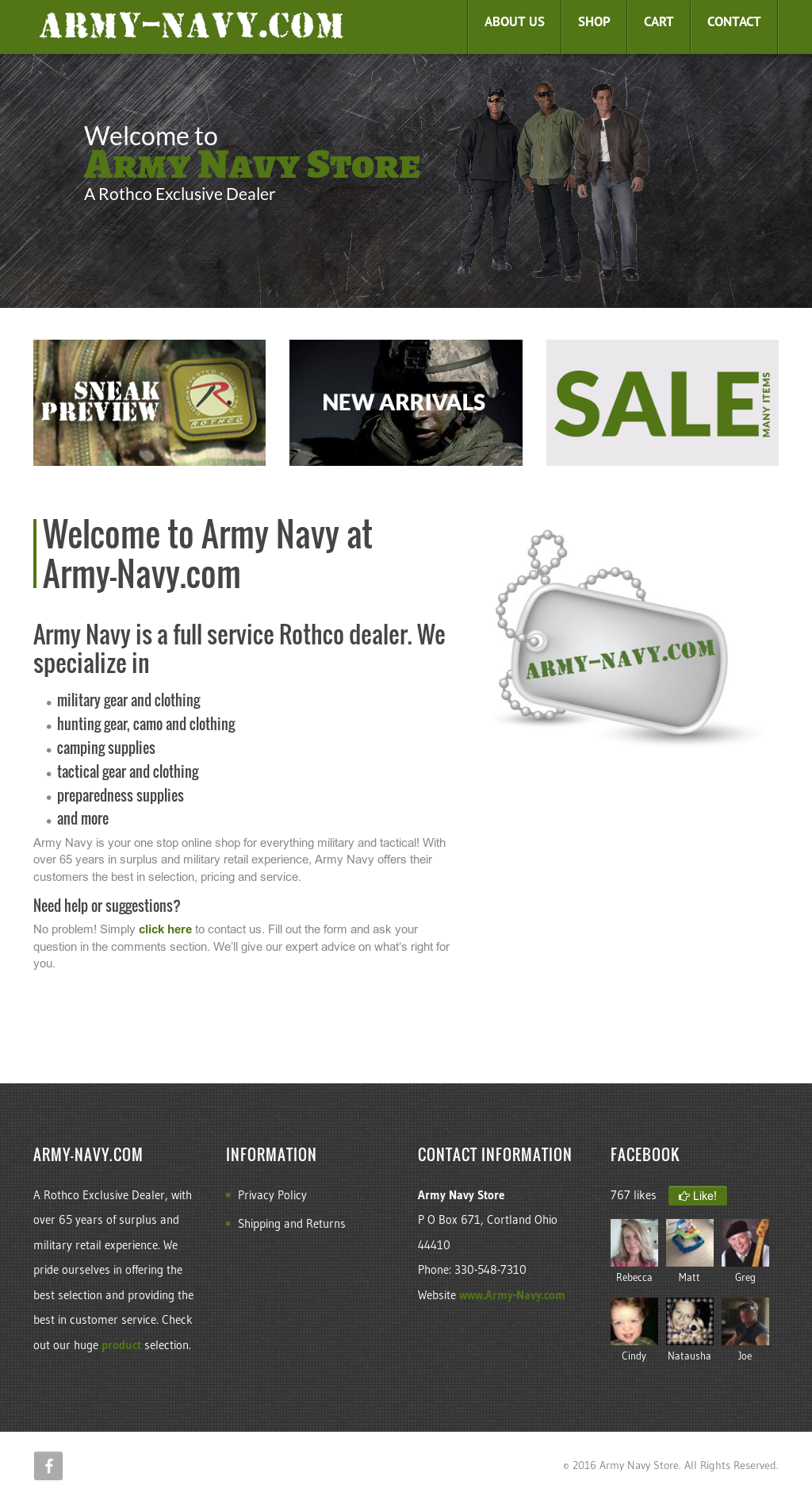 Mickey's Army & Navy Store Competitors, Revenue and