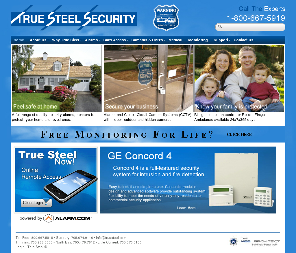 True Steel Security Competitors Revenue And Employees Owler Concord 4 Alarm Wiring Diagram Company Profile