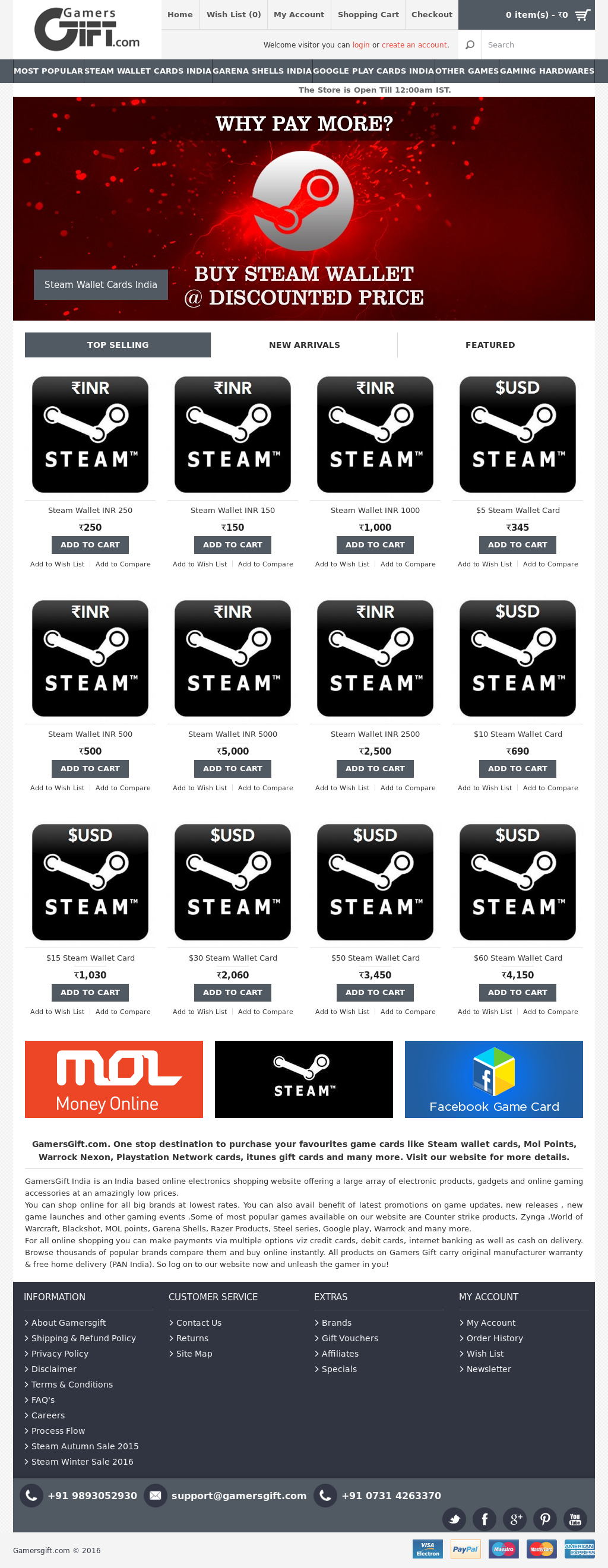 Owler Reports Press Release Gamersgift Steam Wallet Cards Of 1 Different Dimensions At Gamers Gift For You