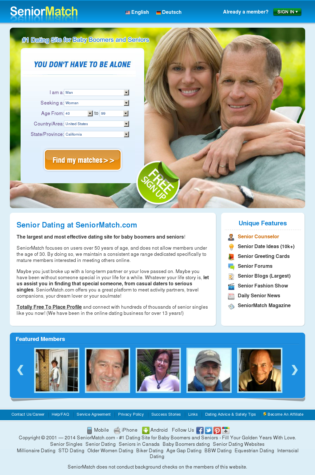 Senior-Match-Dating-Website