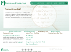 Palladium Consulting website history