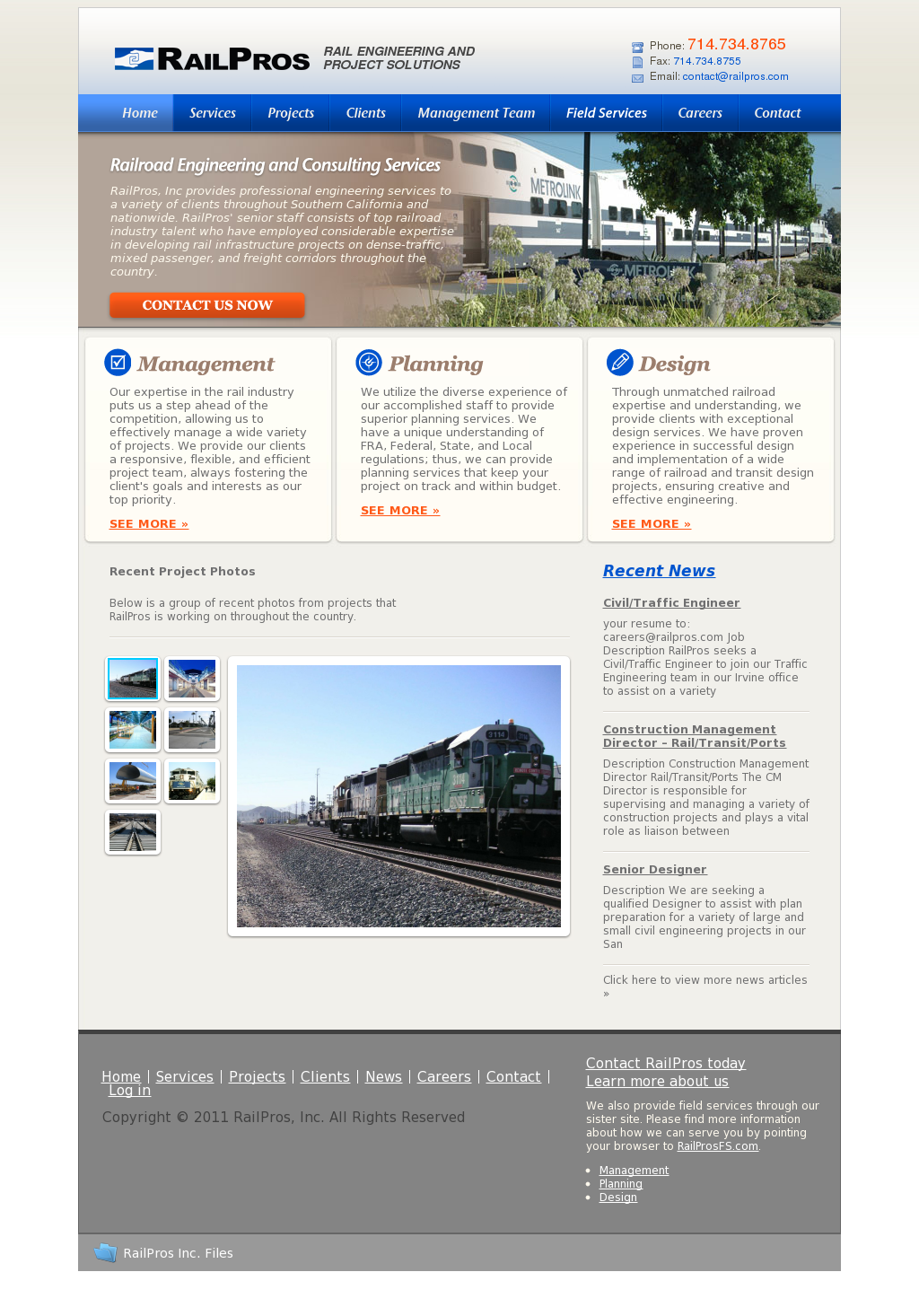 Railpros careers