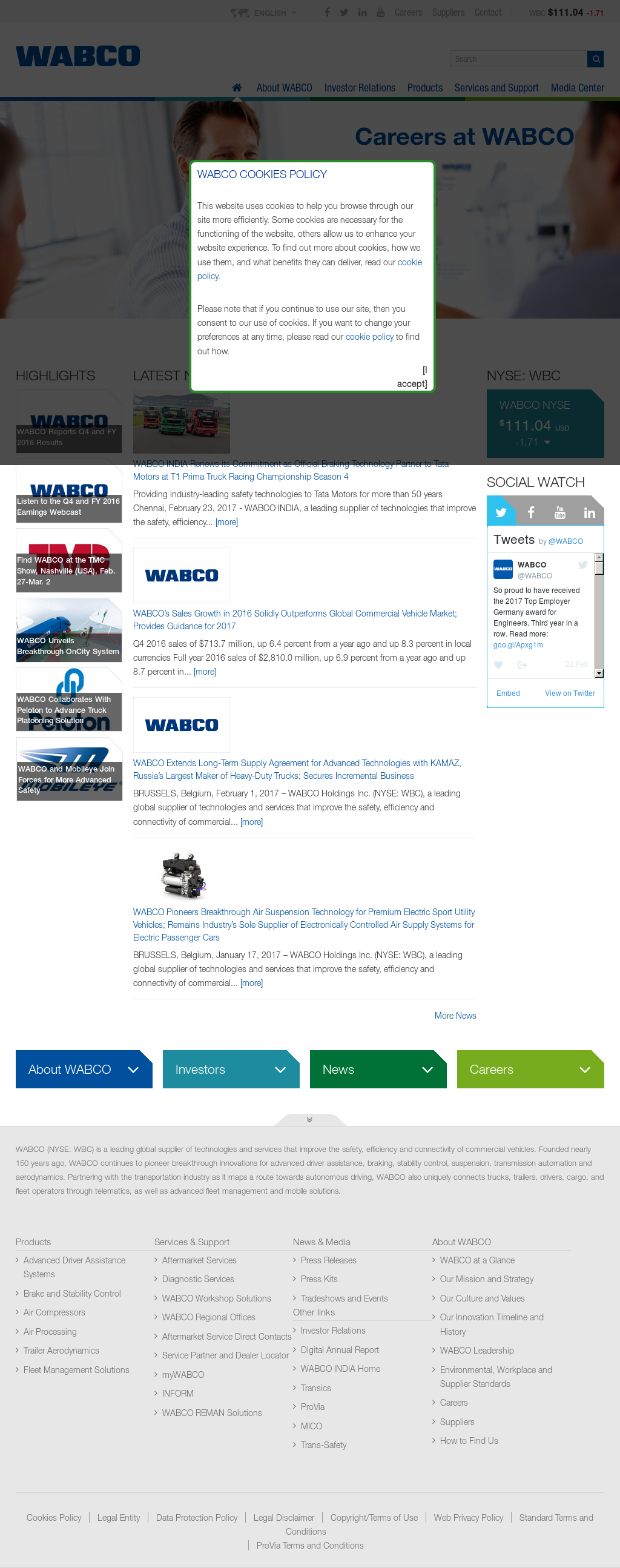 WABCO Competitors, Revenue and Employees - Owler Company Profile