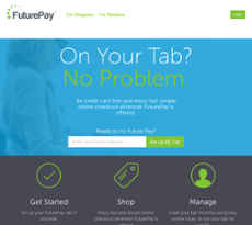 FuturePay website history