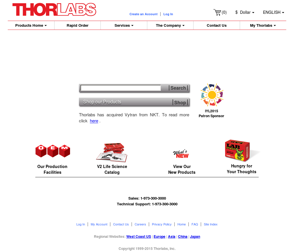 Thorlabs Competitors, Revenue and Employees - Owler Company