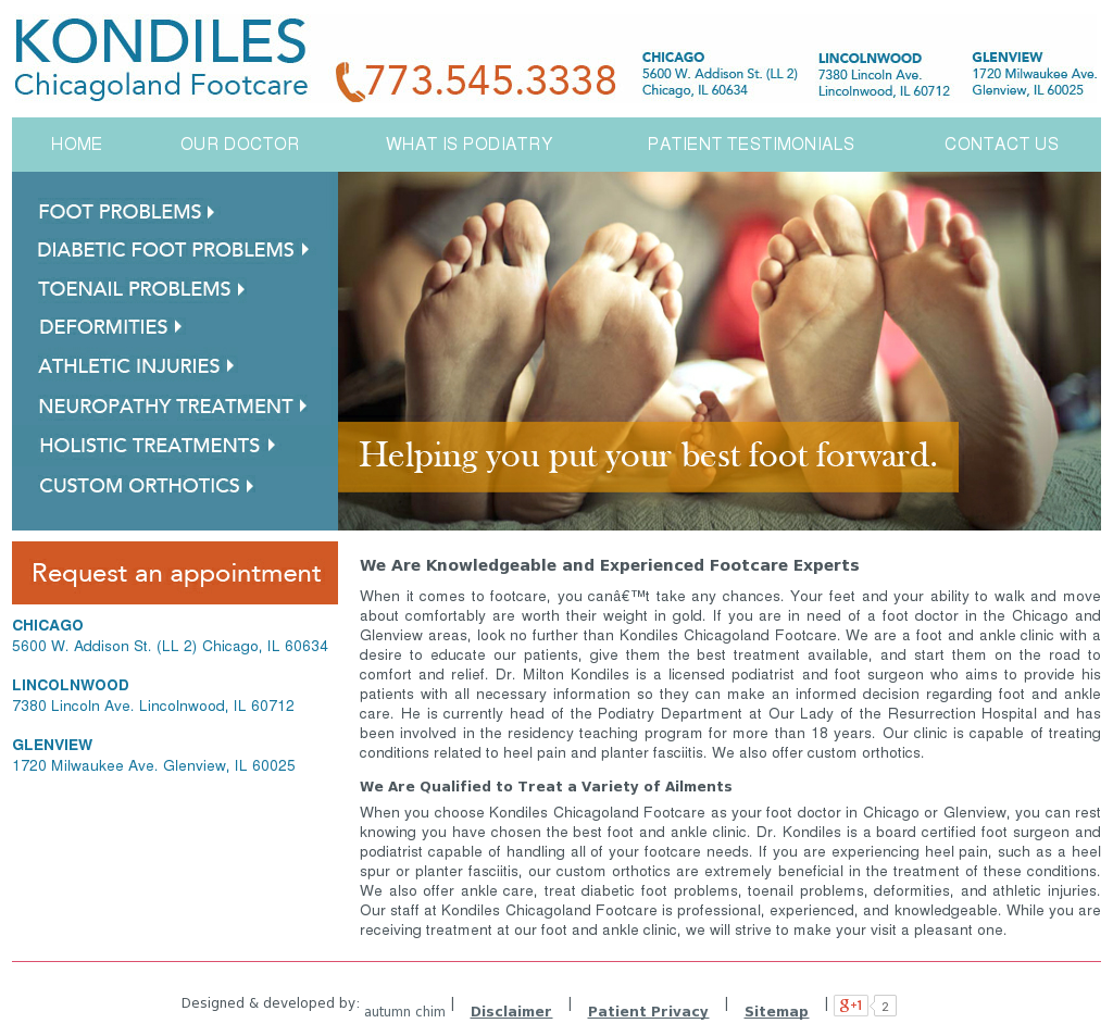 Kondiles Footcare Competitors, Revenue and Employees - Owler Company