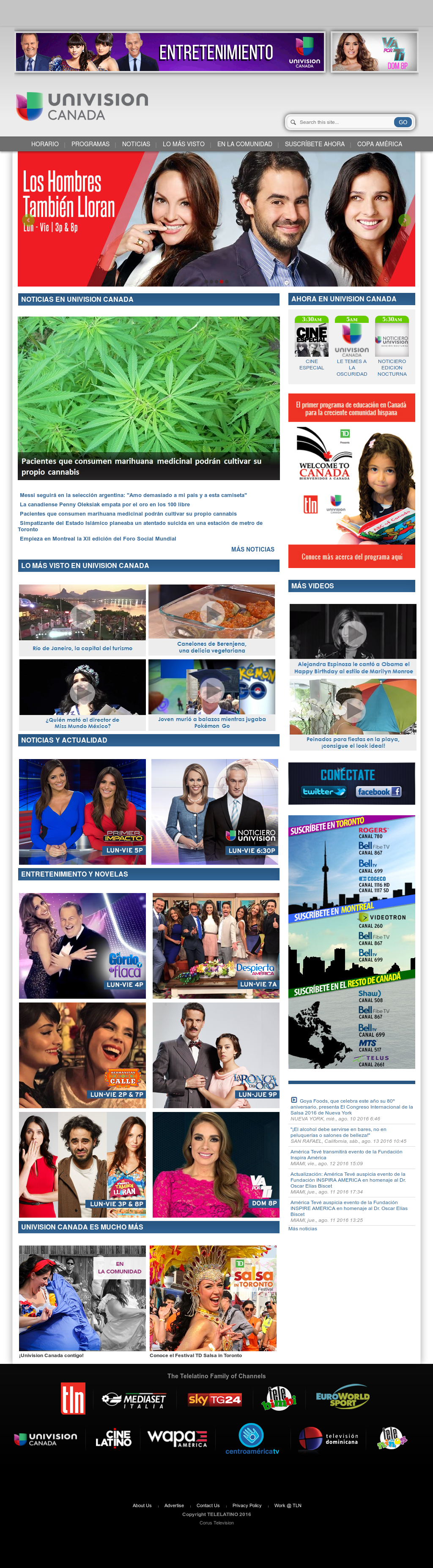 Univision Canada Competitors, Revenue and Employees - Owler
