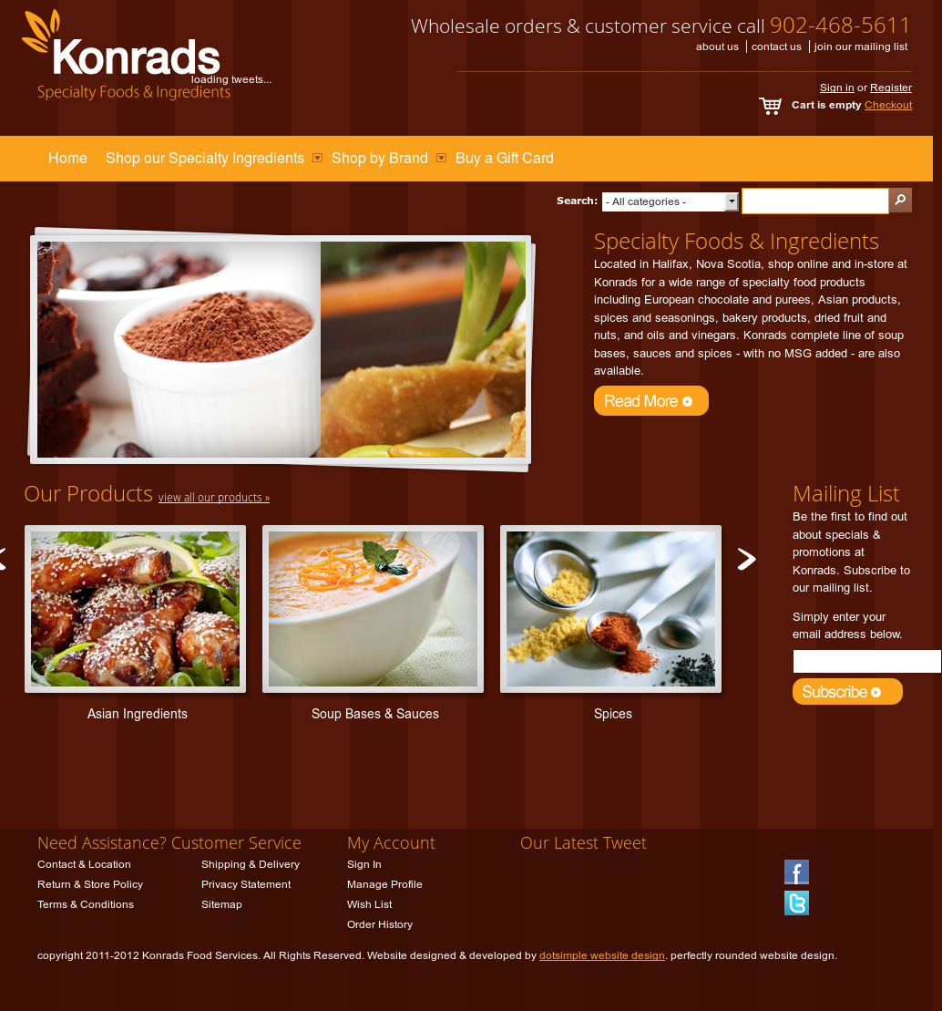 Konrads Food Services Competitors, Revenue and Employees - Owler