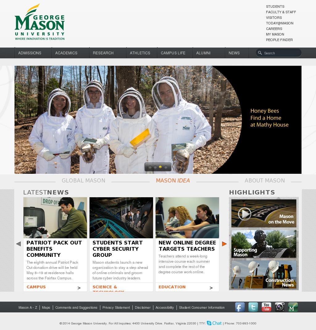 george mason dating site Contact us 4400 university drive msn-2f2 fairfax, virginia 22030 phone: 7039938834 fax: 7039933988.
