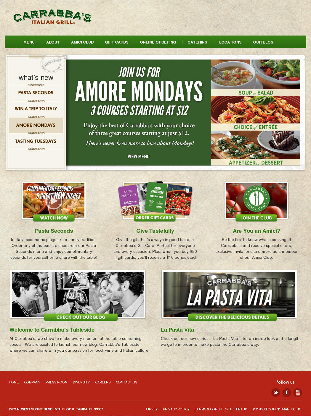Carrabba's Competitors, Revenue and Employees - Owler