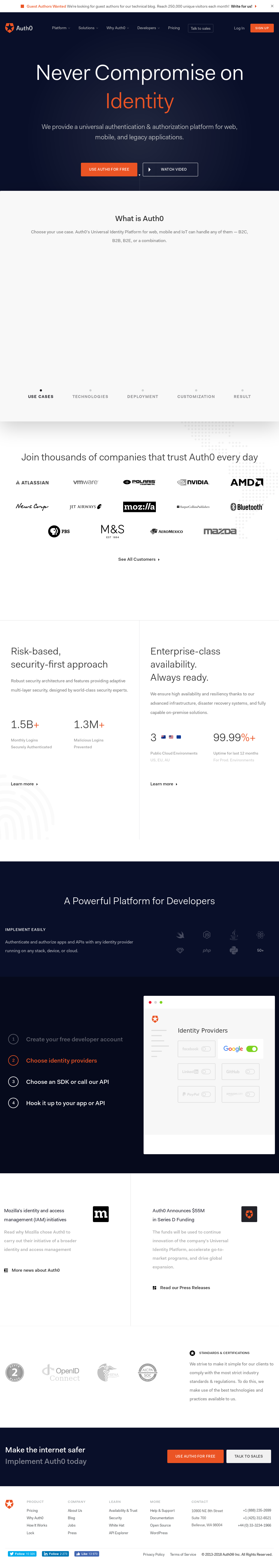 Auth0 Competitors, Revenue and Employees - Owler Company Profile