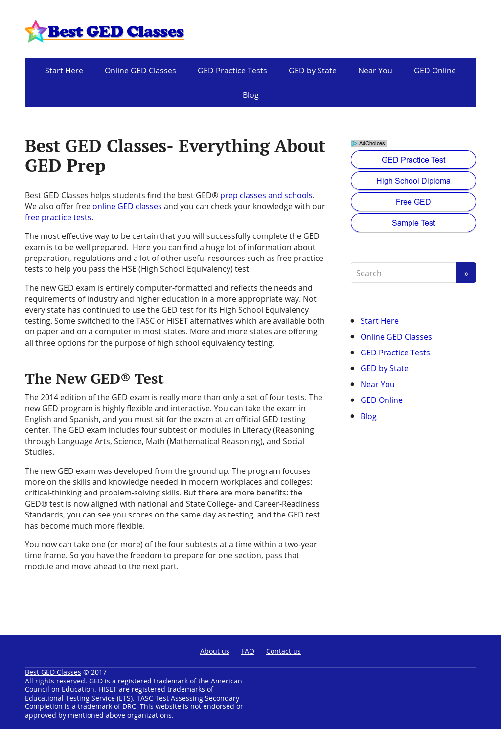 Best Ged Classes Competitors Revenue And Employees Owler Company