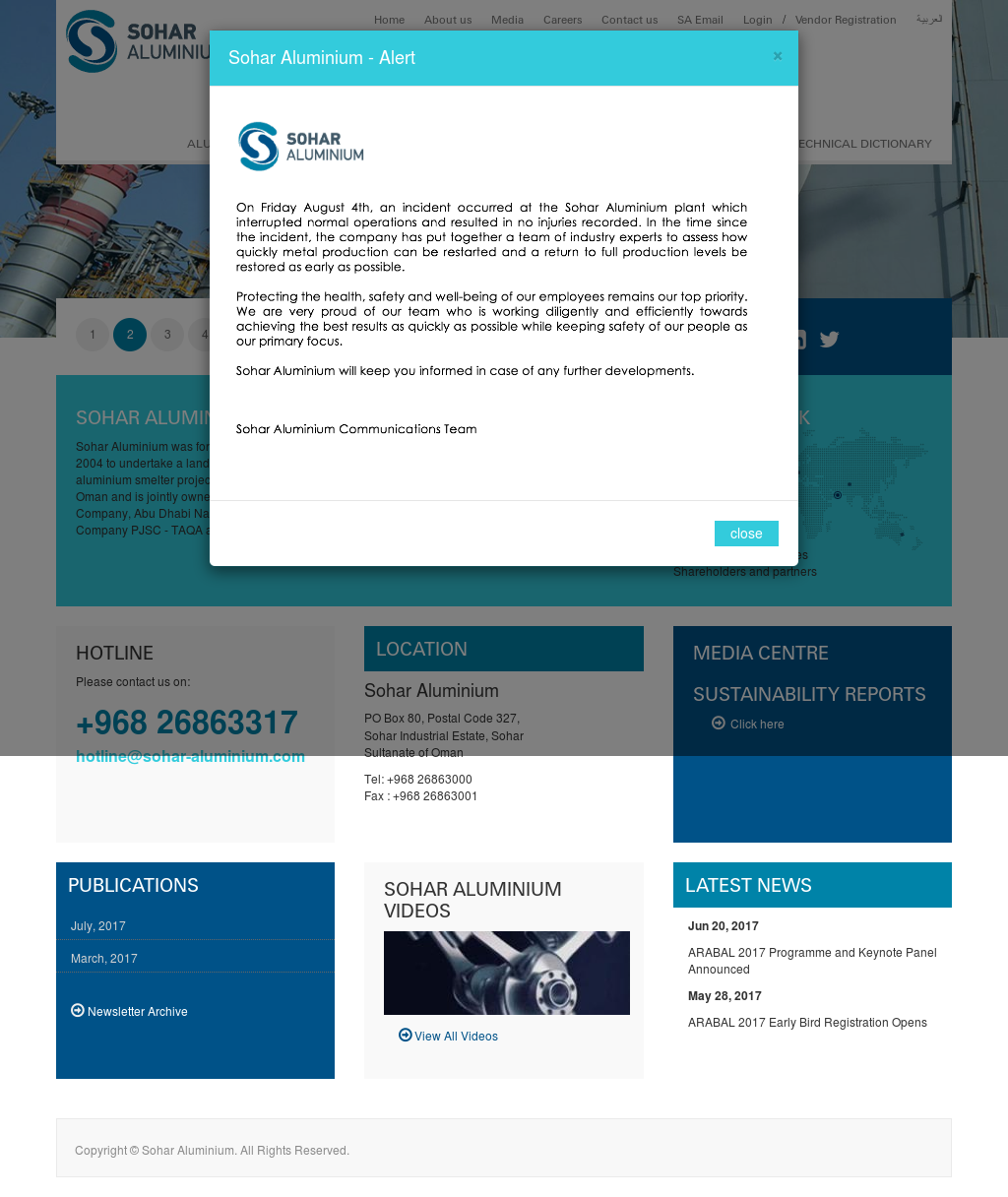 Sohar Aluminium Competitors, Revenue and Employees - Owler Company
