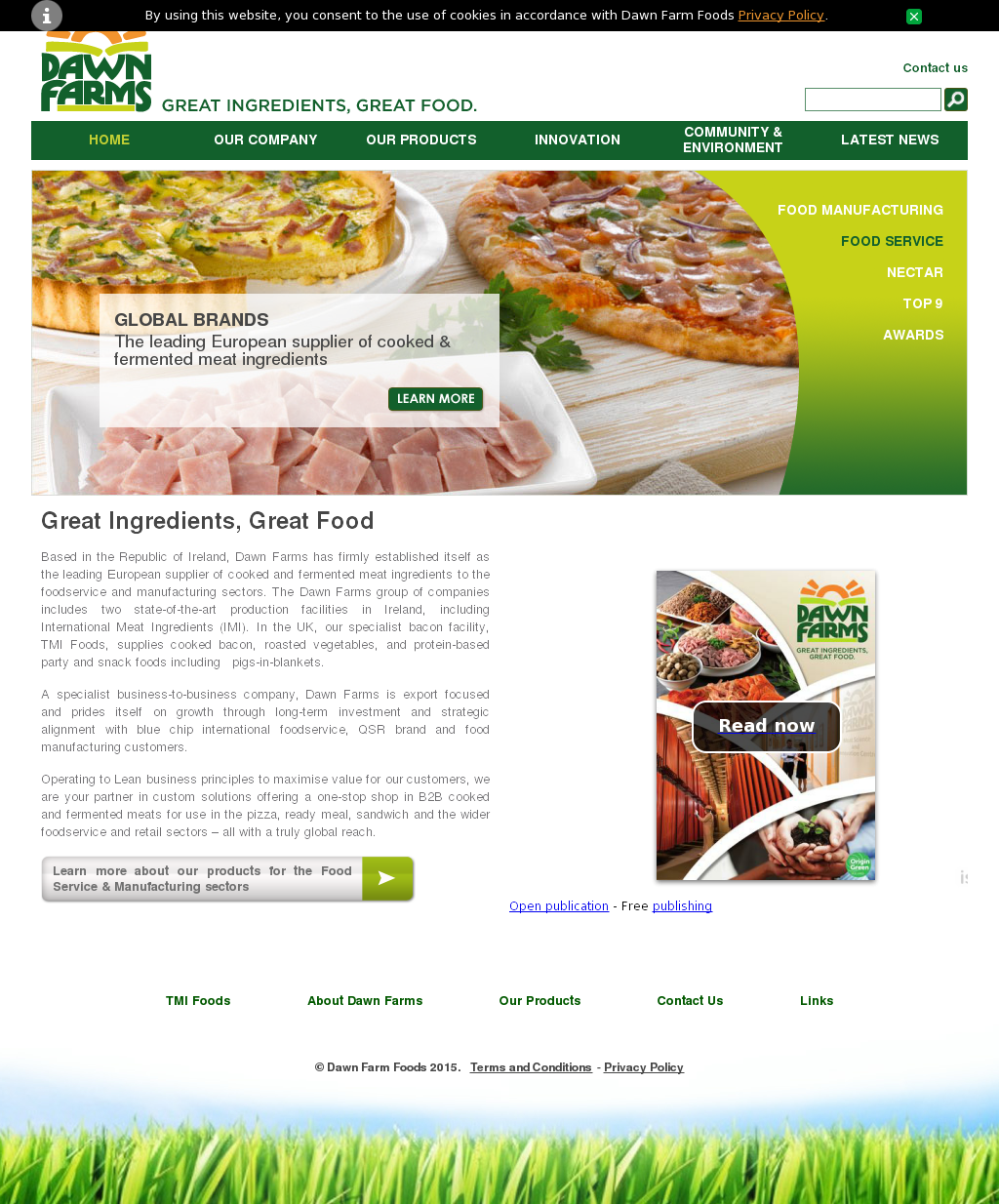 Dawn Farm Foods Competitors, Revenue and Employees - Owler