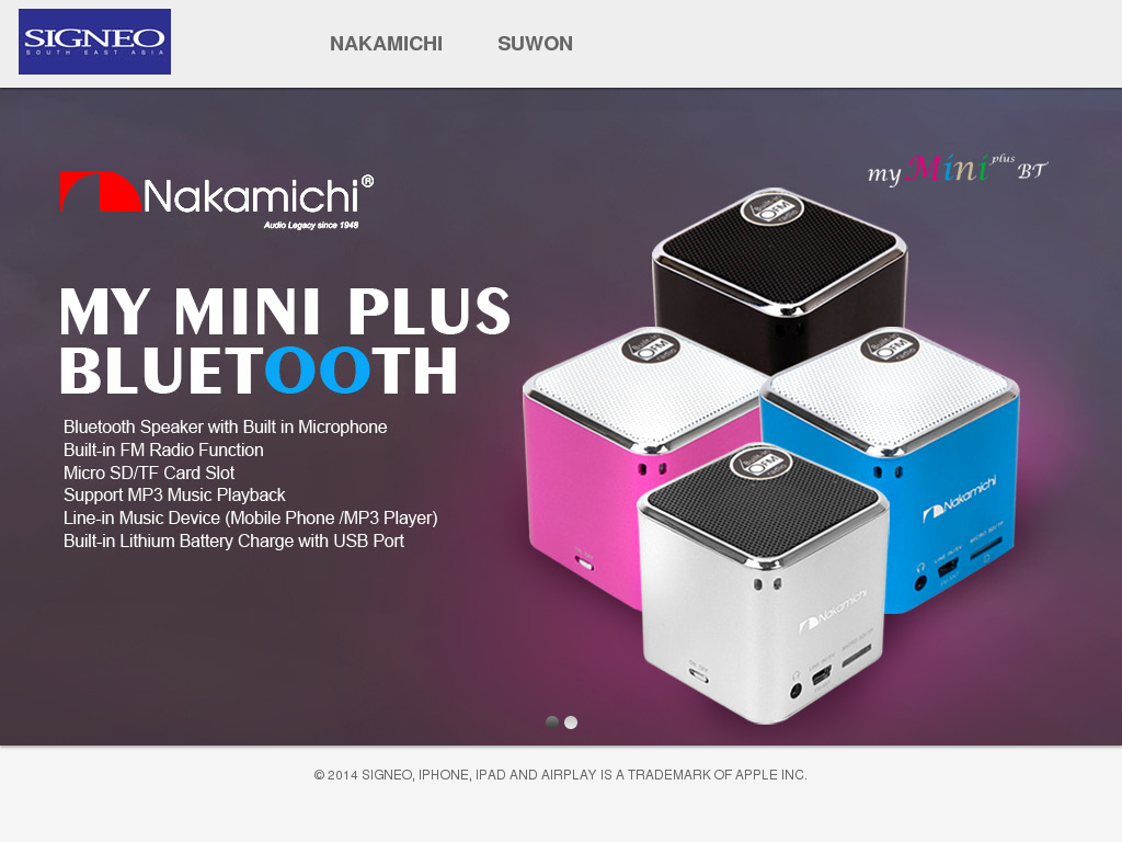 Signeo Competitors Revenue And Employees Owler Company Profile Nakamichi My Mini Plus Speaker With Fm Radio Pink