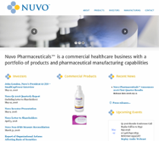 Nuvo Research website history