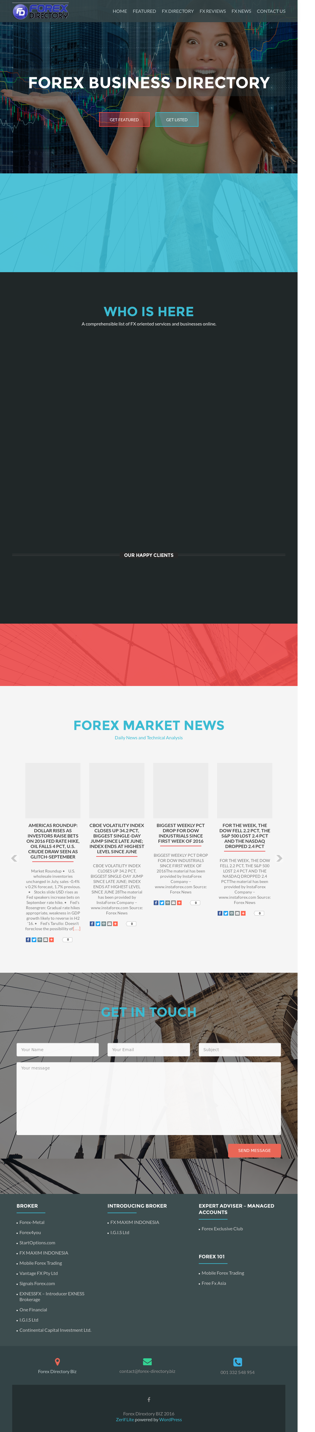 Forex Directory Competitors, Revenue and Employees - Owler