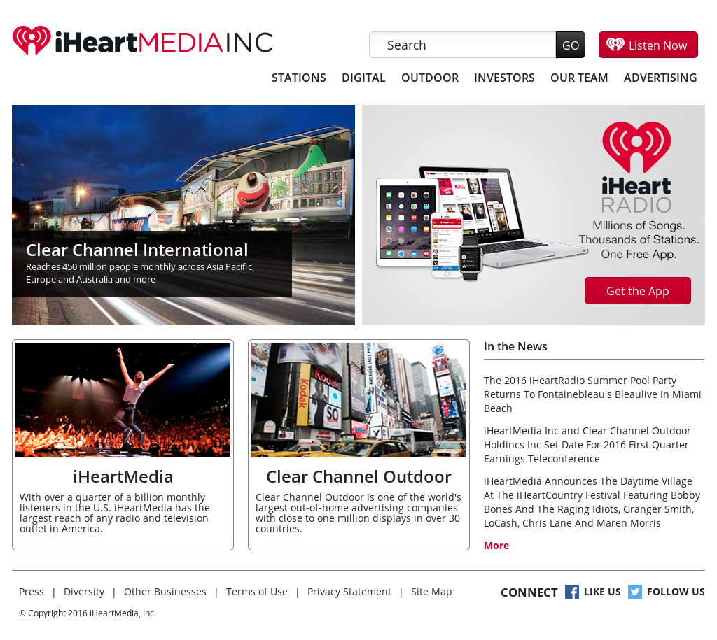 iHeartMedia Competitors, Revenue and Employees - Owler