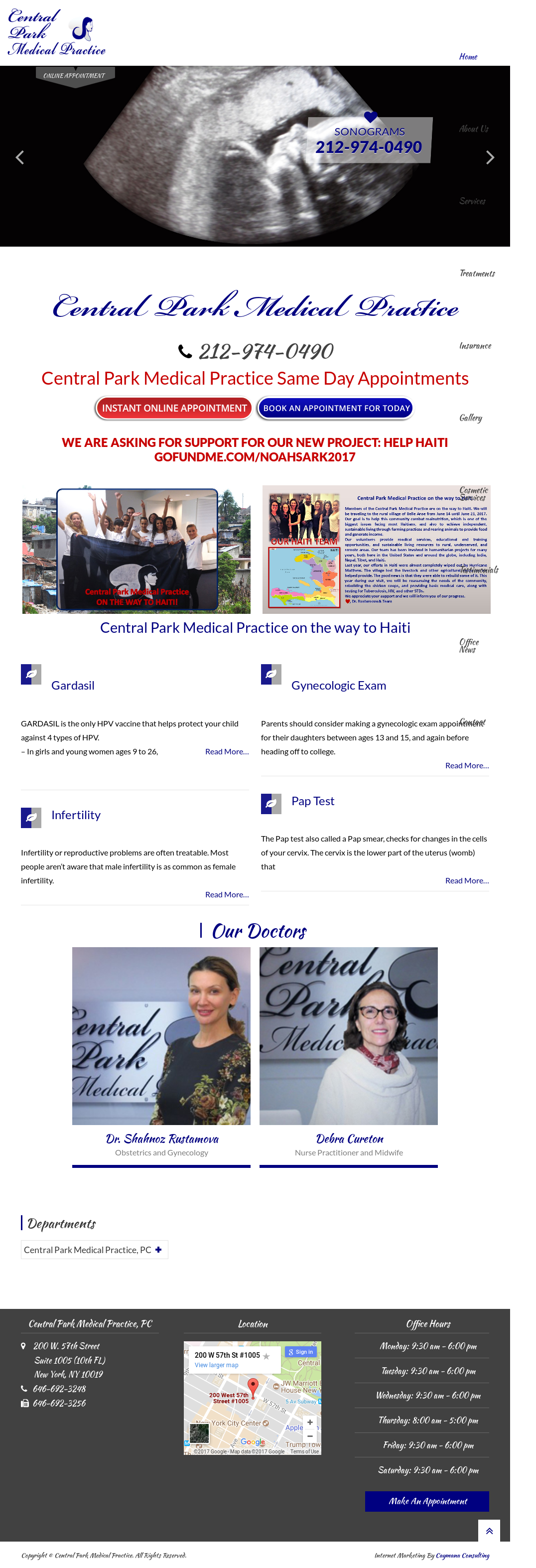 Central Park Medical Competitors, Revenue and Employees