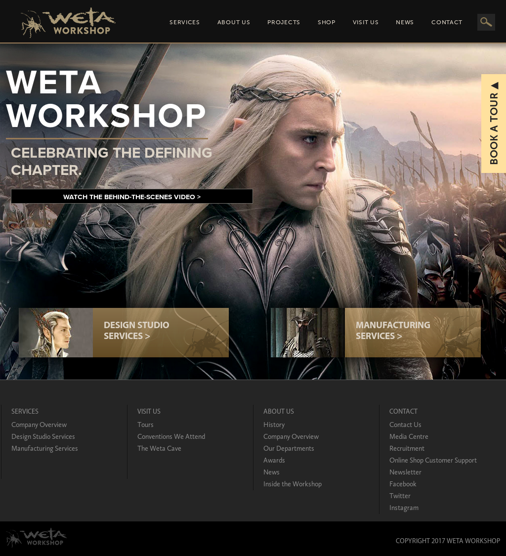 Weta Workshop Competitors, Revenue And Employees
