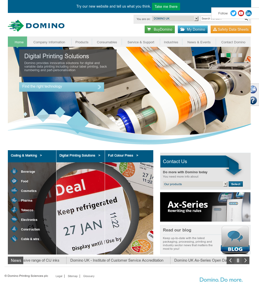 Domino Printing Competitors, Revenue and Employees - Owler