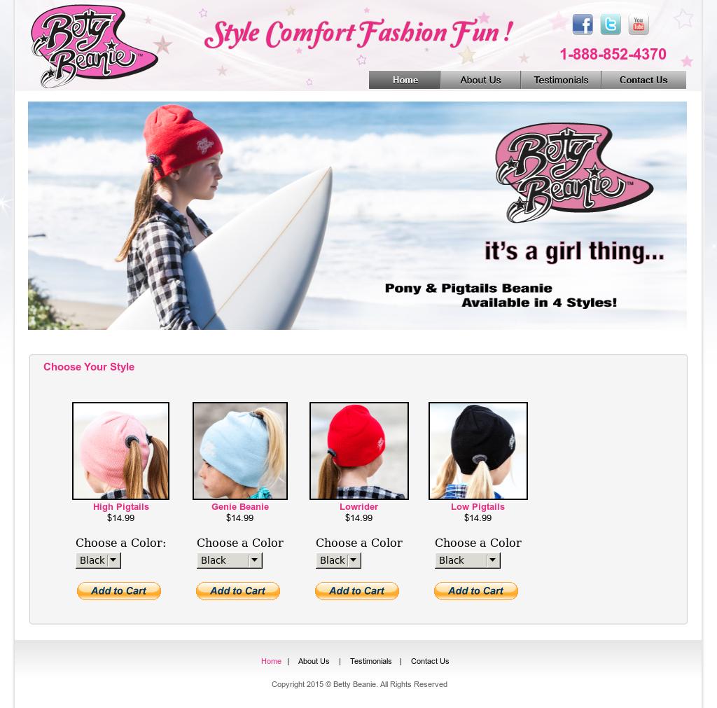 696380ba4a4 Betty Beanie Competitors