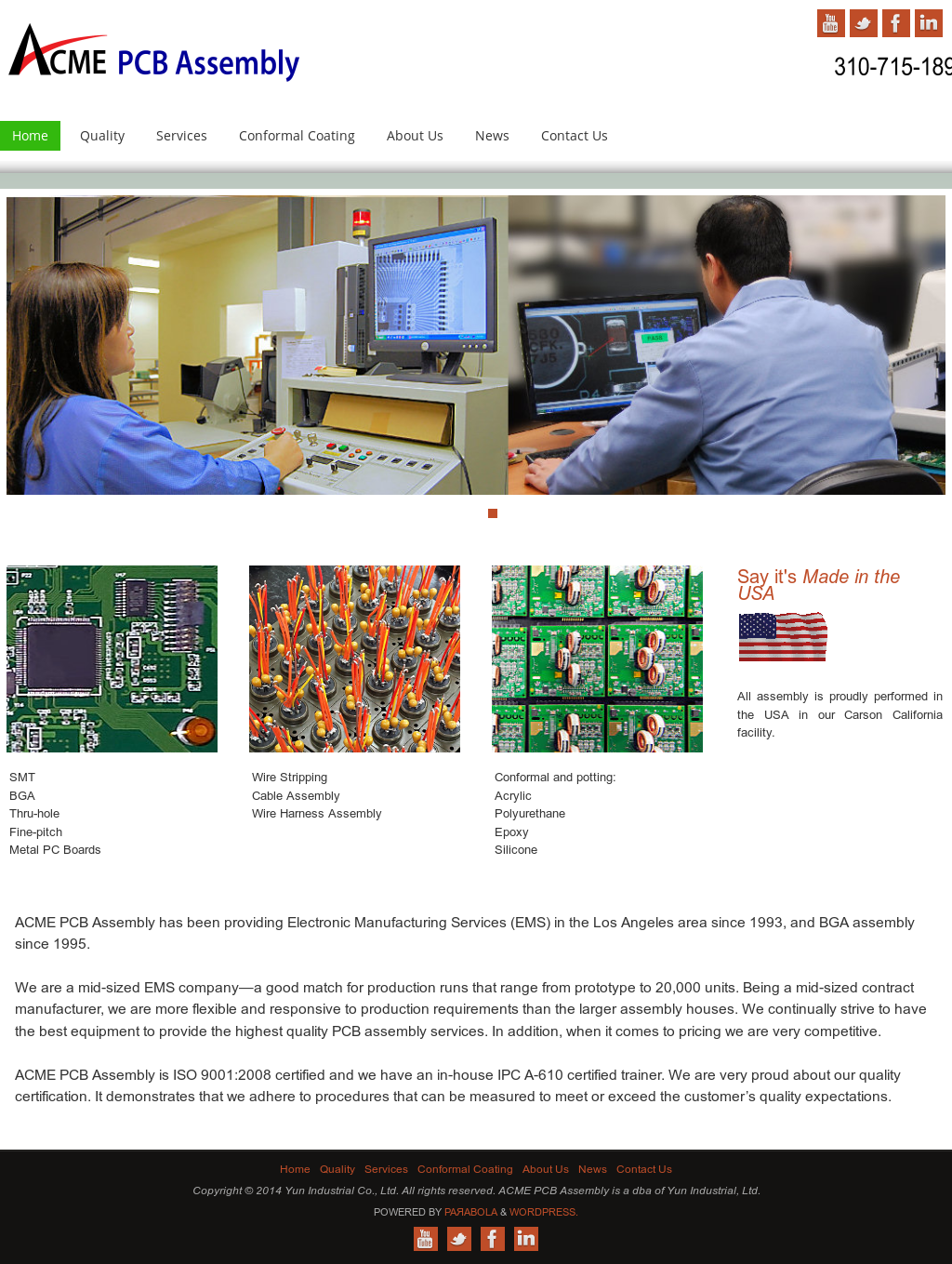 ACME PCB Assembly Competitors, Revenue and Employees - Owler Company ...
