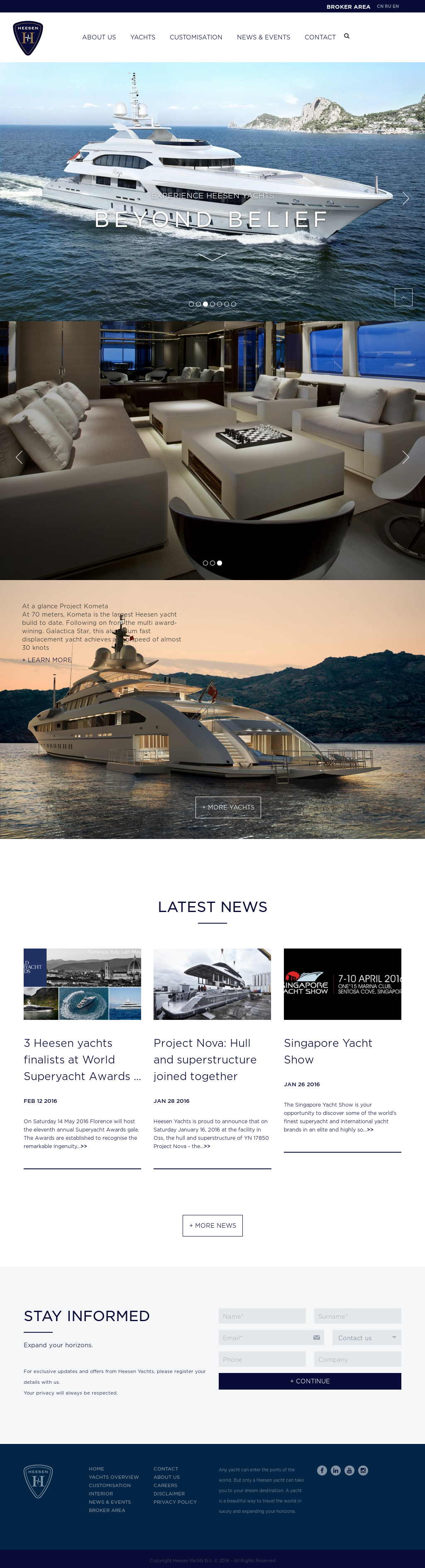 Heesen Yachts Competitors, Revenue and Employees - Owler