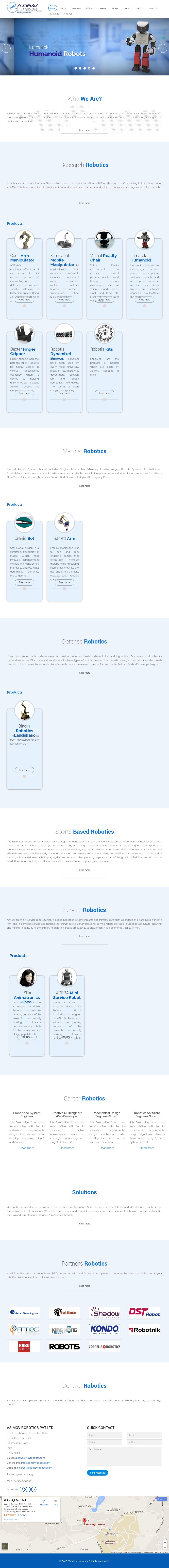 ASIMOV Robotics Competitors, Revenue and Employees - Owler