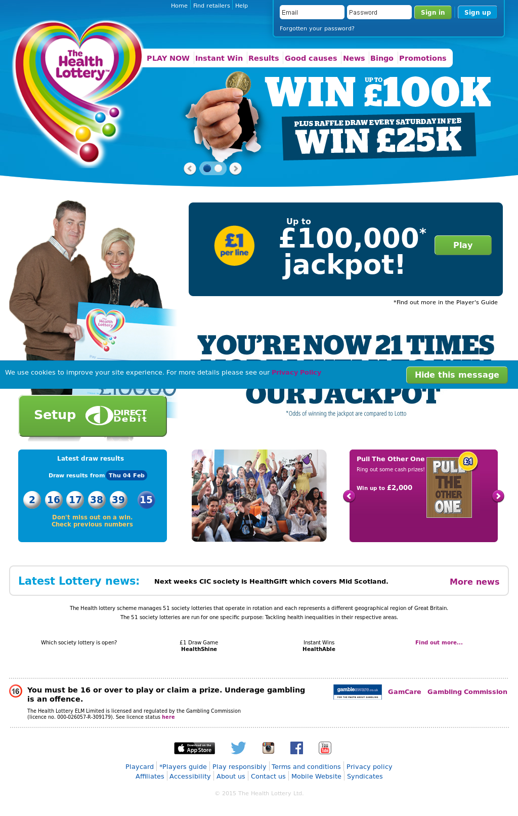 Health Lottery Odds >> Health Lottery Competitors Revenue And Employees Owler