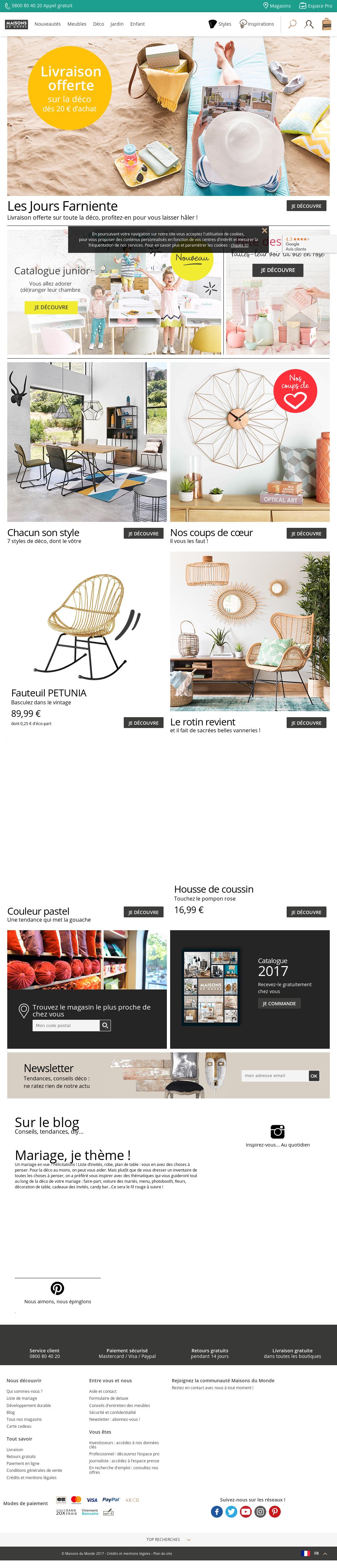 Contact Maison Du Monde.Owler Reports Maisons Du Monde Maisons Du Monde Surpasses