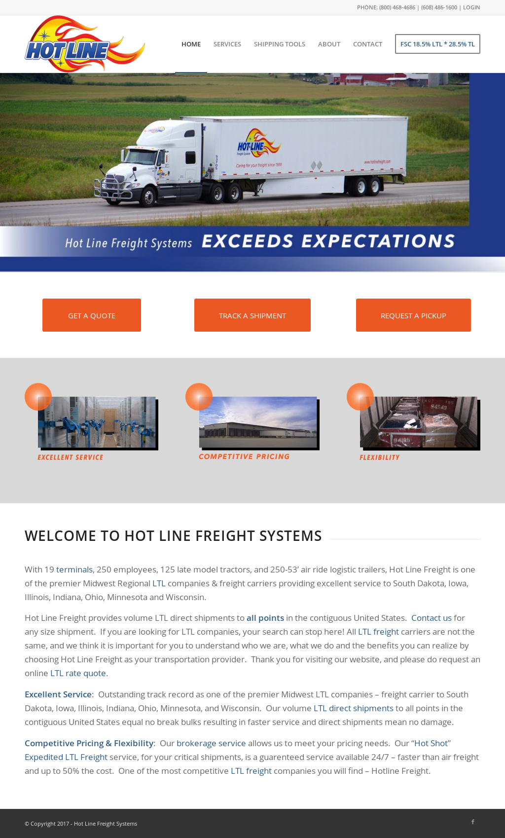 Hot-Line Freight Systems Competitors, Revenue and Employees - Owler Company Profile