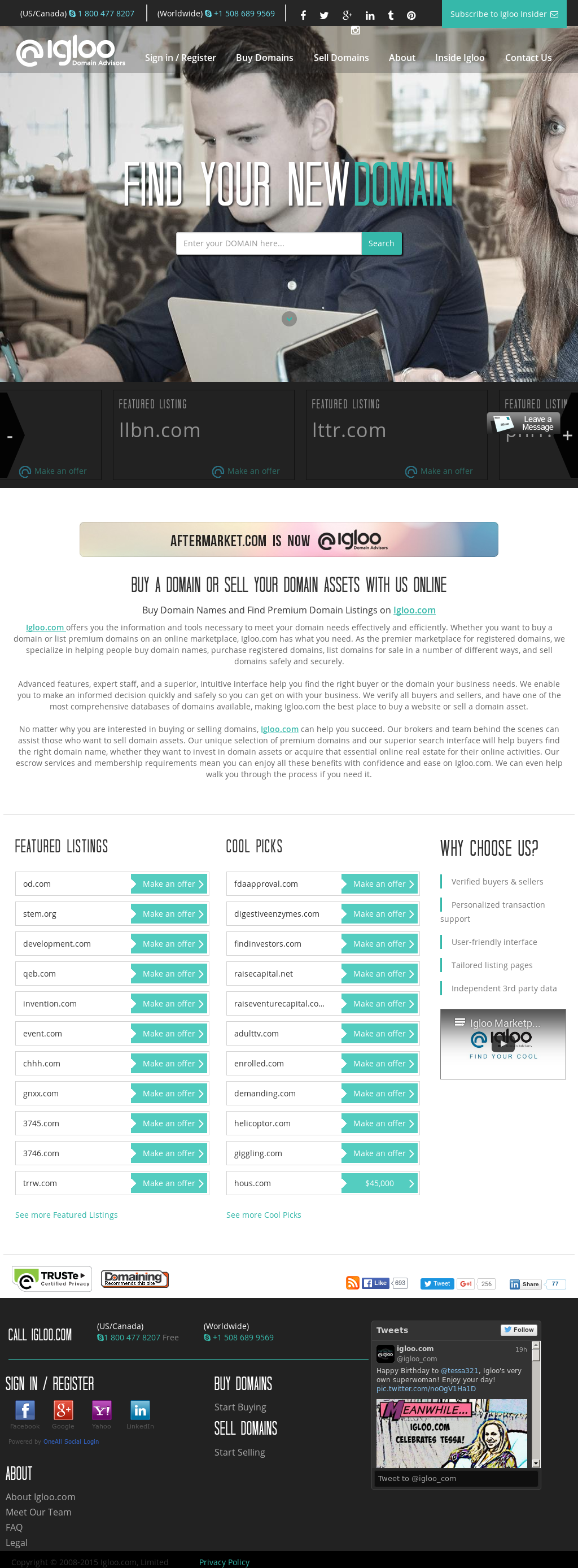 Igloo com Competitors, Revenue and Employees - Owler Company