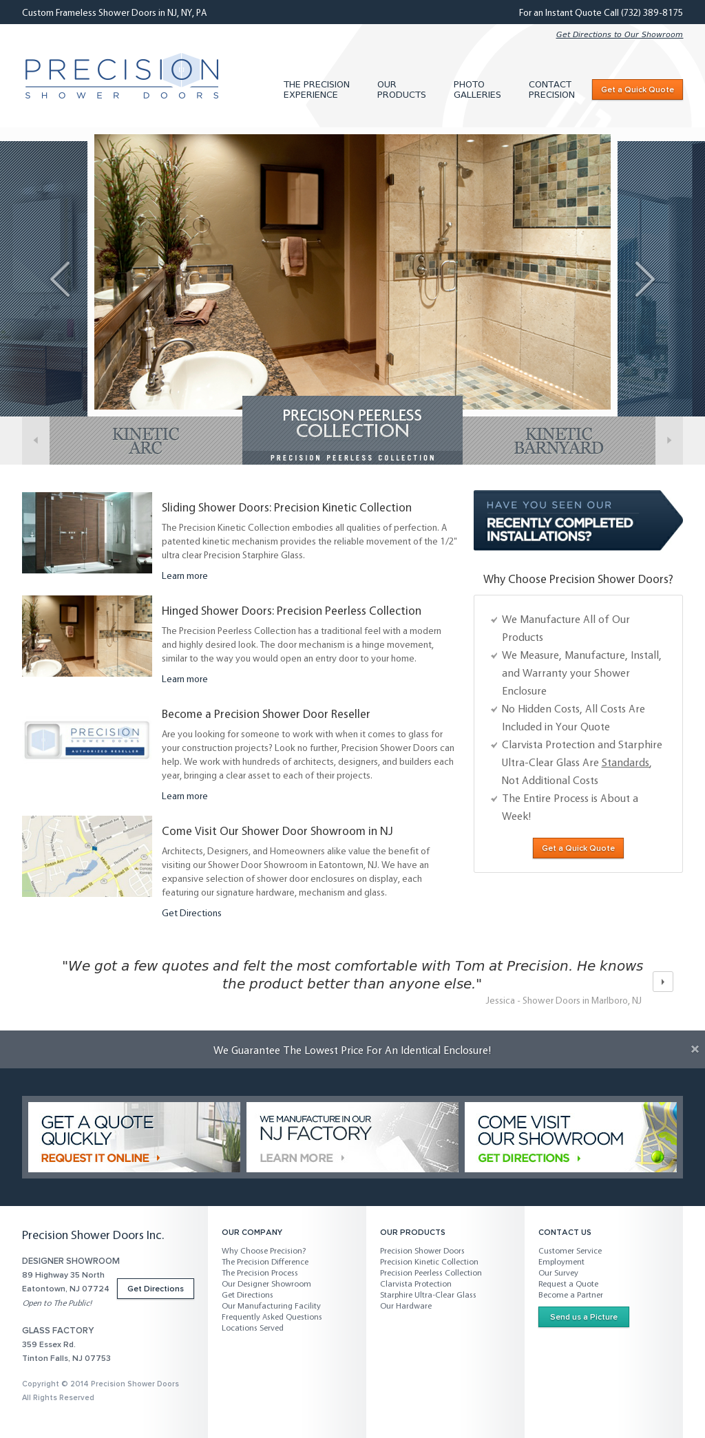 Precision Shower Doors Competitors Revenue And Employees Owler