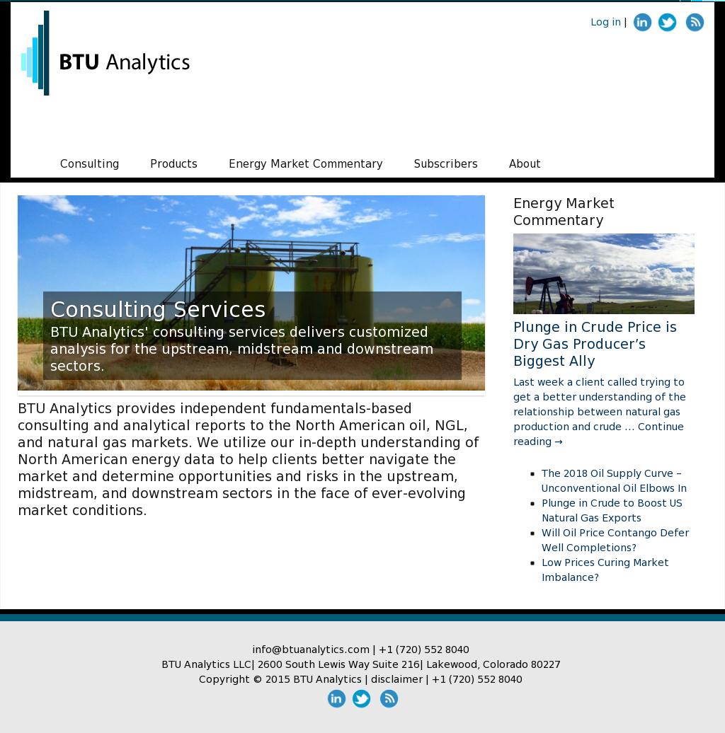 BTU Analytics Competitors, Revenue and Employees - Owler