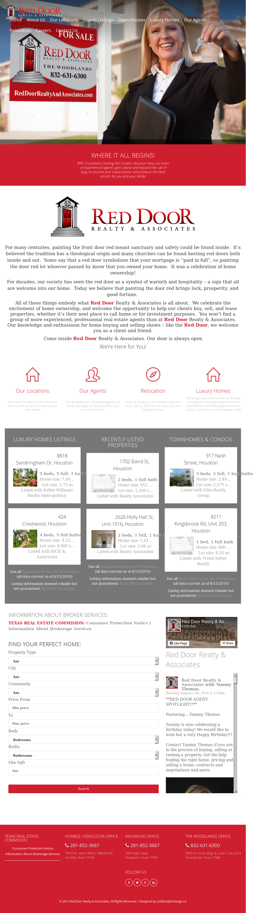 Red Door Realty Associates Competitors Revenue And Employees