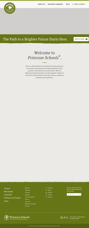 Primrose Schools Competitors, Revenue and Employees - Owler