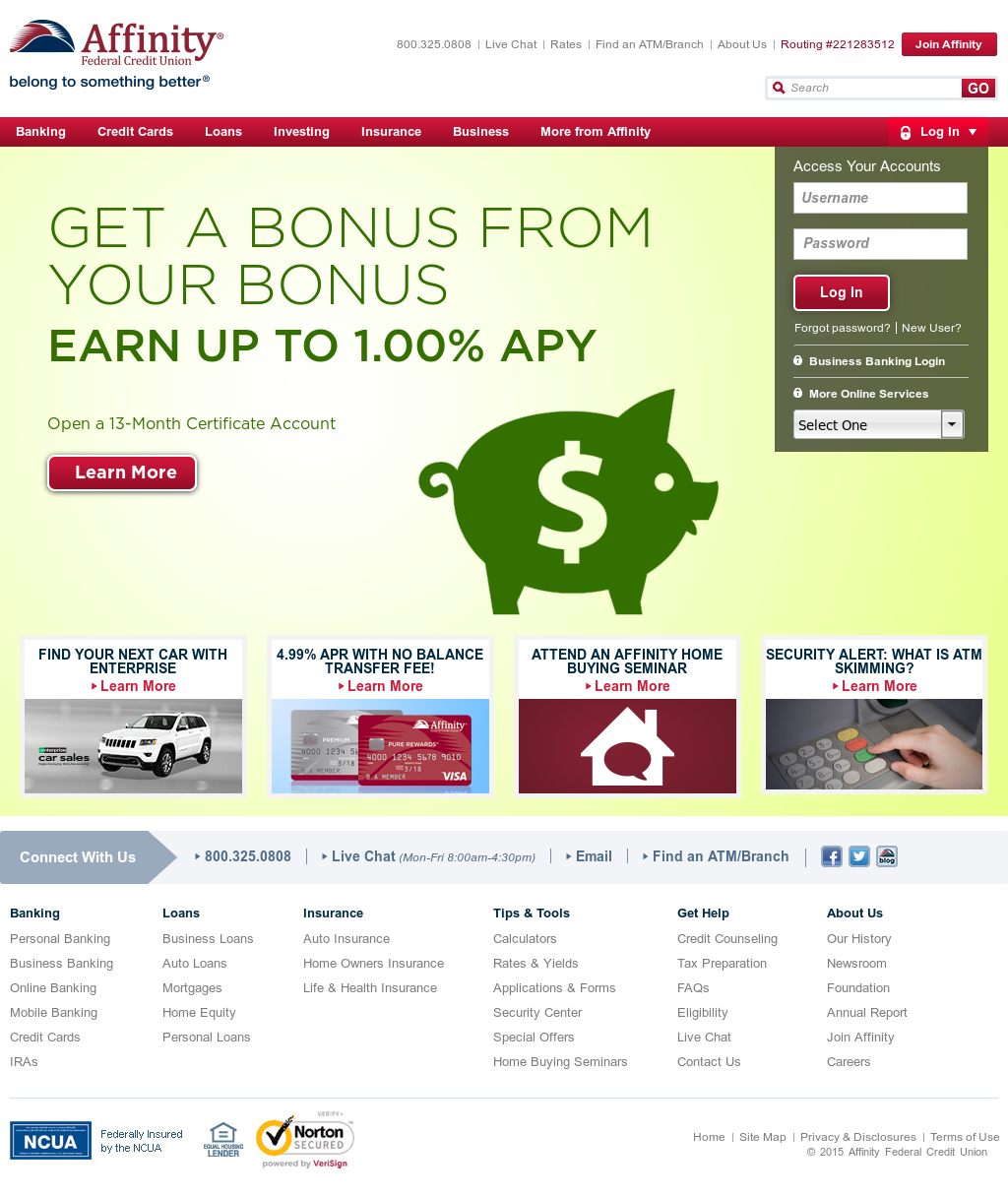 affinityfcu competitors, revenue and employees - owler company profile