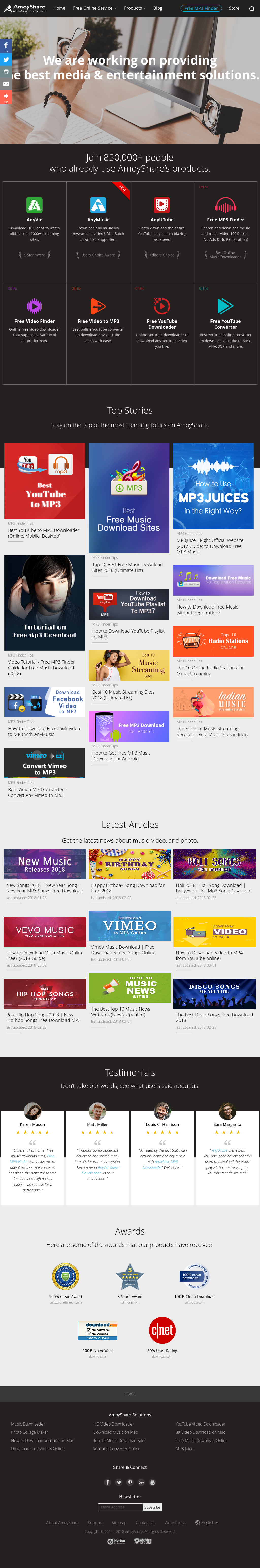 Owler Reports - Press Release: AmoyShare : AnyMusic - The