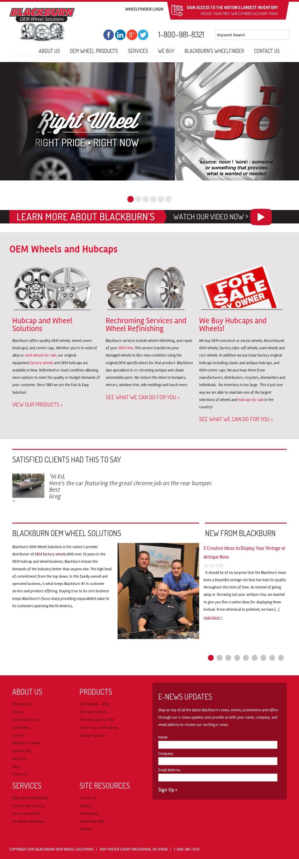 Blackburnwheels Competitors, Revenue and Employees - Owler