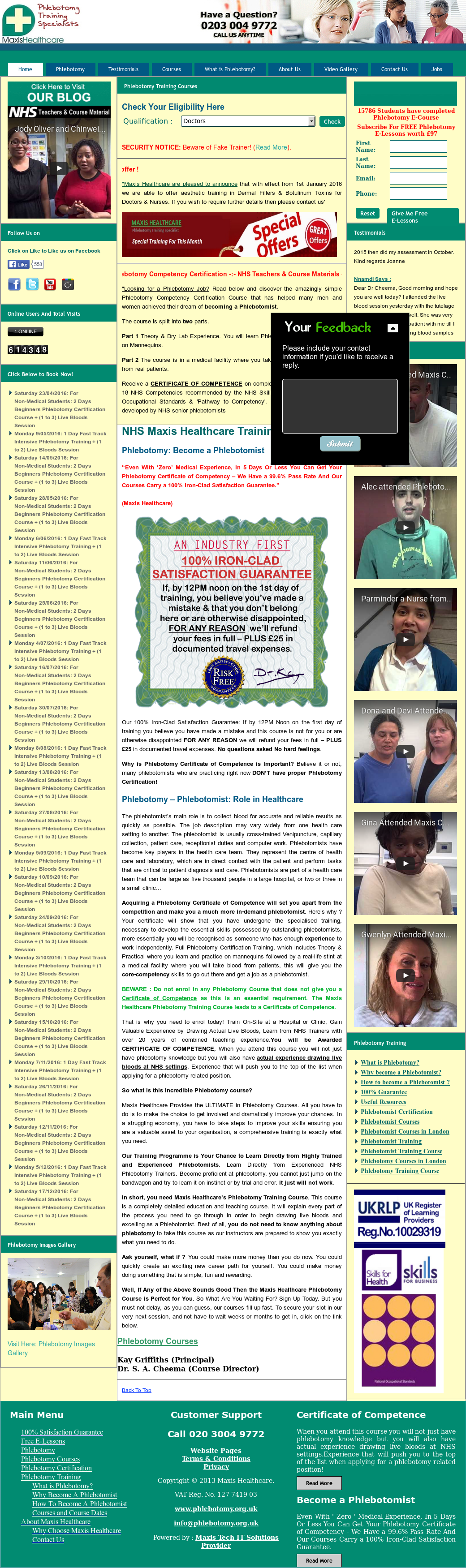 Phlebotomy Competitors Revenue And Employees Owler Company Profile